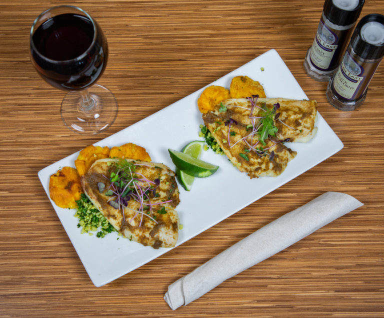 Curried Flounder
